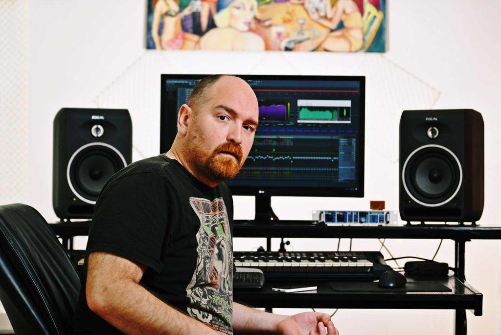 DJ Hippietech studio