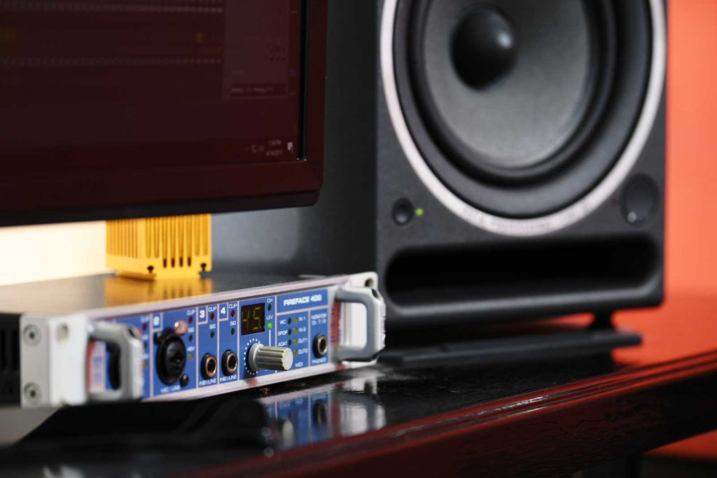 Sound card rme fireface