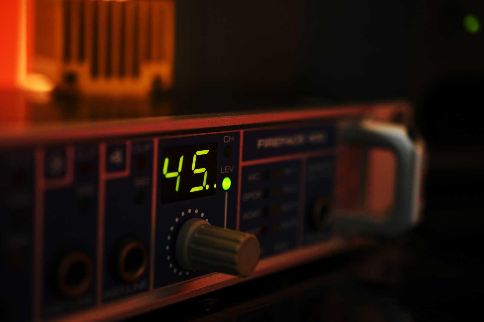 Sound card rme
